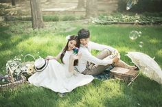 May studio, Korean pre wedding photo shoot package, Korea pre wedding, cherry…