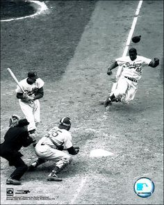 Jackie Robinson  |   We could all learn much about baseball and life and tenacity from this Legend.  42!