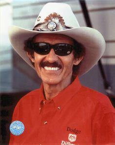 richard petty | Richard Petty Portrait With Cowboy Hat And Sunglasses