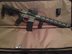 Custom cerakoted AR15 Very nice build | VA Gun Trader