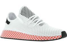 newest b2472 4d7cf adidas Deerupt Runner White