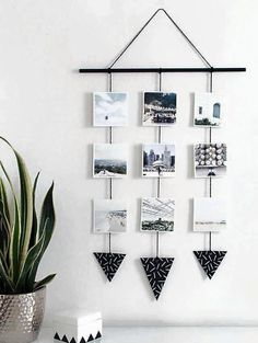 5 Increíbles ideas para organizar y ‪#‎decorar‬ con fotos!. ‪#‎decoracion‬ ‪#‎hogar‬ ‪#‎homedecor‬ ‪#‎DIY‬