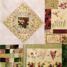 Leanne's House Block of the Month Quilt - Block 8