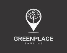 Green Place Logo design - Green Place professional logo for company, business, foundation, or organization.<br />it suitable for healthcare, green/eco-friendly, education, place mark, food, travel, services, resort, villa, event, etc Price $270.00