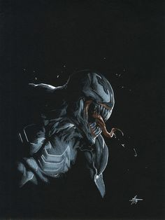 Venom #150 (2017) Variant Cover by Gabriele Dell'Otto