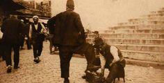 1900' lerde ayakkabı boyacısı