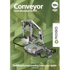 Conveyor LEGO NXT e-book.  Award winning RoboCAMP LEGO NXT building & programming instruction guide.