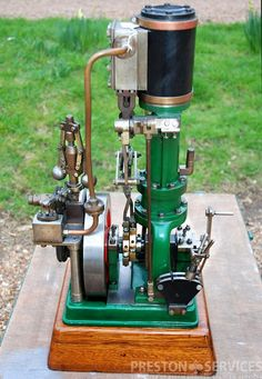 """Single Cylinder Steam Engine 1¾"""" x 2¾"""" – PRESTON SERVICES"""