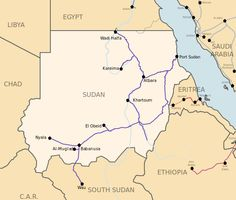 Republic Of The Sudan Map Beauty Of Sudan Pinterest Maps - Republic of the sudan map