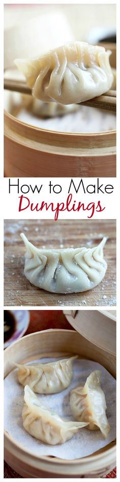 China - How to make dumplings - learn the easy steps to make healthy and delicious dumplings | rasamalaysia.com