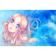 Anime Elf, Anime Monsters, Anime Fantasy, Fantasy Girl, Anime Mermaid, Warrior Drawing, Mermaid Cove, Blonde Hair Blue Eyes, Anime Couples