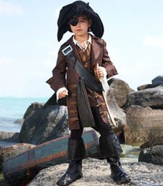 pirate boy costume at chasing-fireflies.com...my favorite kids clothing company. They have the cutest costumes EVER!