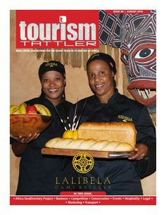 Our August edition front cover reflects the happy disposition of staff members at Lentaba Safari Lodge, located in the Lalibela Game Reserve in South Africa's Eastern Cape province. A fitting image considering that South Africa celebrates National Wo. Magazines, Tourism, Africa, Reading, Journals, Turismo, Reading Books, Travel, Traveling
