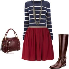 """""""Fall Date Outfit"""" by lisy-martinez on Polyvore"""