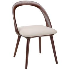 Moe's Home Collection CG-1011-05 Rialto Dining Chair in Beige - Set of 2