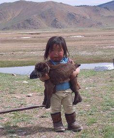 Little Mongolian girl sooo cute!