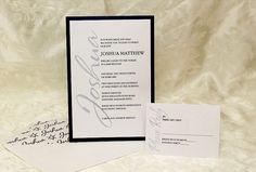 Invitation Wizard for Simple Sophistication II Bar Mitzvah Invitation