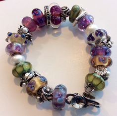 Trollbeads  This is not my Trollbead design, but I love the colors on this bracelet.cs