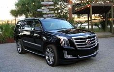 2017 Cadillac Escalade overview