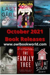 This is the perfect opportunity to find out what October 2021 releases are coming out this month. See any books you're interested in?