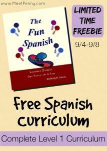 FREE Spanish curriculum