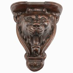 Shop wall-mounted sculptures and other wall décor and wall art from the world's best furniture dealers. Shelves For Sale, Wall Decor, Wall Art, Cat Furniture, Vintage Walls, Carved Wood, Architectural Elements, Plant Decor, Wall Shelves