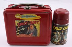 Space Cadet - Tom Corbett 1952 Vintage Aladdin Lunch Box with Metal Thermos