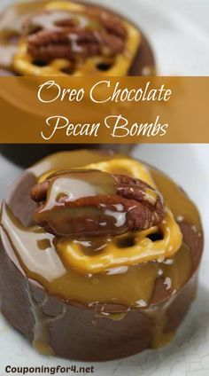 If you're looking for a holiday, baby or wedding shower dessert that appears to be fancy, but is incredibly easy to make, you've come to the right place! These Oreo Chocolate Pecan Bombs c ...