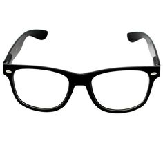 CLEAR LENS 80's Style Vintage Wayfarer Style Sunglasses. Many Colors... (5.17 CAD) ❤ liked on Polyvore