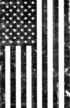 Dirty Vintage Black and White American Flag Art Print by rexlambo American Flag Drawing, Black American Flag, Mexican American, American Flag Tattoos, American Flag History, American Flag Decal, Black And White Flag, Black Art, Arte Dope