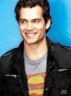 Henry Cavill- photo from Entertainment issue Feb, 2011. How he has changed physically for the role of Superman