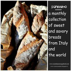 """""""Panissimo"""" una raccolta di ricette di  pane e lievitati salati e dolci. Raccolta n. 6 In italiano ed  In inglese"""