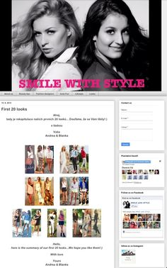 check out our first 20 looks:) yours Andrea