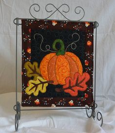 QUILT KIT: Autumn Night October Monthly Mini by QuiltVine on Etsy