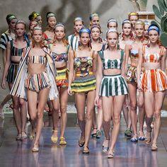 Dolce & Gabbana Spring 2013 | Runway