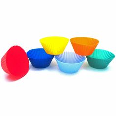silicone baking cups - perfect for bento box lunches!