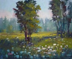 Painting My World: A Important Tip for Creating Depth in a Landscape