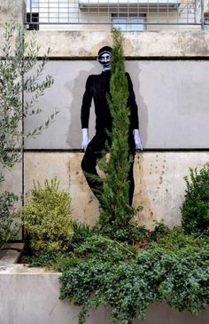 Paste up by French artist Levalet