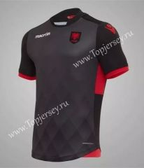 2017-18 Albania Black Thailand Soccer Jersey Cheap Football Shirts 131c037d6