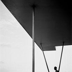 Thomaz Farkas, Pampulha Casino marquise, Belo Horizonte, MG. Brazilcirca 1949 on ArtStack #thomaz-farkas #art