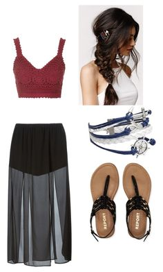 """""""Untitled #158"""" by nat-cat-iconic ❤ liked on Polyvore featuring MICHAEL Michael Kors, Topshop, With Love From CA and Aéropostale"""