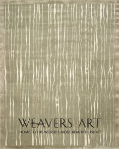 Waterfall in Grey / Neutral Area Rug | Silk and Wool Rugs | Contemporary Rugs - Weavers Art