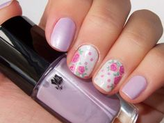 50 most beautiful pastel nail art design ideas for trendy watercolor flower Spring Nails, Summer Nails, Pastel Nail Art, Ideas 2017, Nailart, Nail Envy, Fancy, Nail Spa, Lilacs