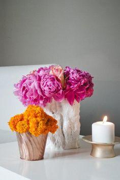 cream pink saffron wedding colours - Google Search