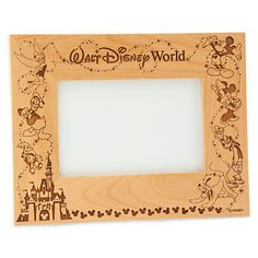 Walt Disney World Cinderella Castle Frame by Arribas - Personalizable. Other designs available