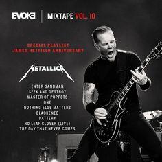 5cbf70174eedb Ninguém precisa de desculpa para ouvir Metallica, mas, de qualquer forma,  hoje temos