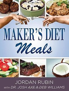 Maker's Diet Meals will give you a step by step guide to creating 150 mouth-watering breakfasts, lunches, dinners, snacks, smoothies and desserts to help you lose weight and feel great.