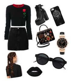 Başlıksız #2 by sudeyigit on Polyvore featuring polyvore, fashion, style, County Of Milan, IRO, Dolce&Gabbana, LullaBellz, Fifth & Ninth and clothing