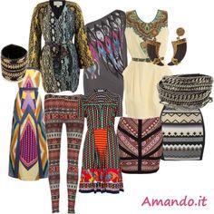 Moda etnica #tribale    http://www.amando.it/moda/consigli/moda-etnica-tribale.html