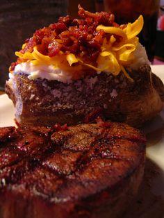 Texas Roadhouse Filet Mignon!